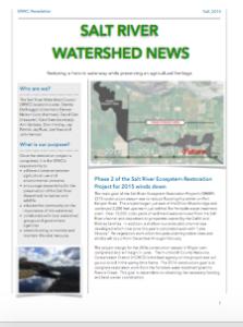 SRWC News Fall 2015